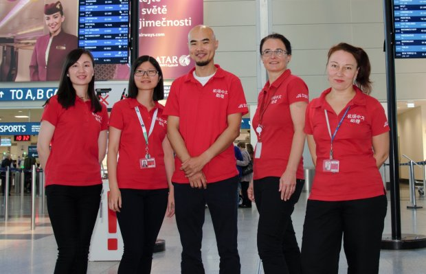 Václav Havel Airport Prague Reports Growing Demand for Services of Chinese Speaking Assistants